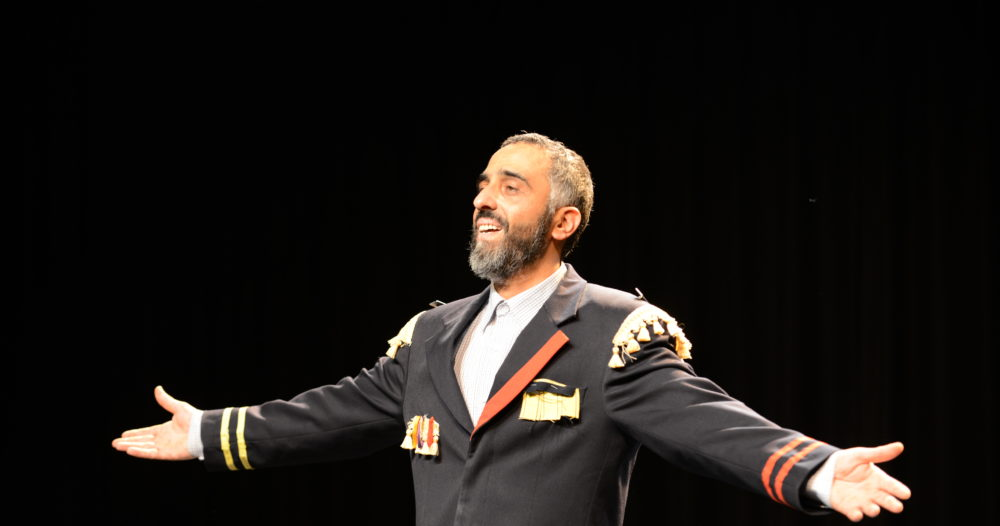 Ibrahim Mousa Theatermaker, acteur en toneelschrijver